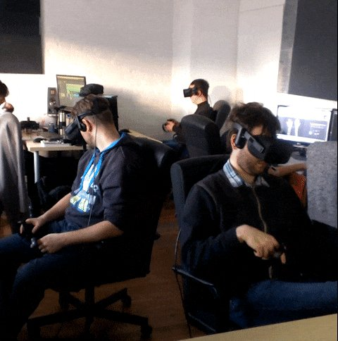 #gamedev is a serious business. #VR #Oculus #Vive #indiedev