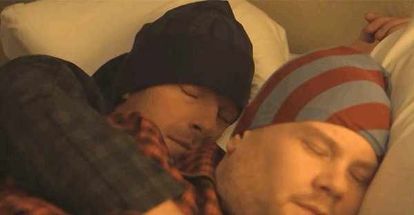brb. celebrating #nationalnappingday with @coldplay's chris martin. ht...
