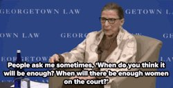 Happy Birthday to Ruth Bader Ginsburg! You\re one Supreme lady!