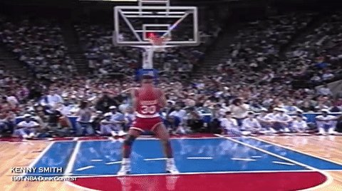 Happy birthday, Kenny Smith! Once upon a time, he could really ball...