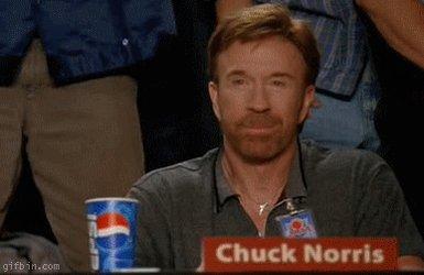 Chuck Norris drives a diesel w/o emission problems. Happy Birthday