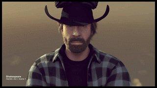 Happy bday Chuck Norris