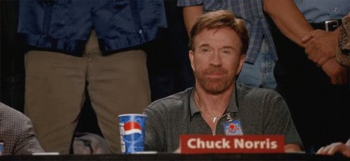 If Chuck Norris doesn\t want Monday, he makes it Friday. and happy birthday to a true legend!