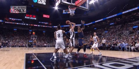 LeBron James exits the game after taking this hellacious, borderline c...