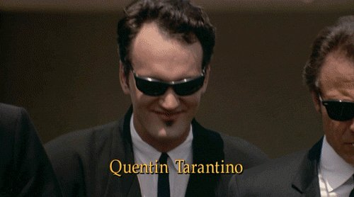 To the man who\s always Happy Birthday Mr. Quentin Tarantino!