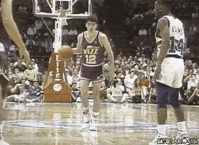 Happy belated birthday to one of my hoops heroes... John Stockton!  The pocket pass surgeon.
