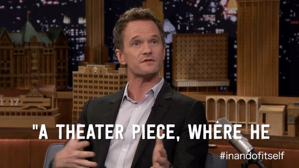 An experience so different, it'll blow your mindhole. #inandofitself @ActuallyNPH