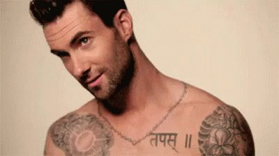 Happy birthday to our dear Adam Levine.. 38 never looked so good