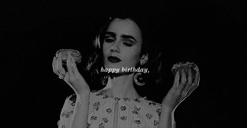 Lily Collins Network: Happy Birthday Lily! -