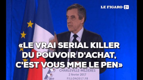 🔴EN DIRECT - En répondant à la candidate frontiste #LeGrandDébat #DebatTF1 ➡️bit.ly/1erDébatPresid…