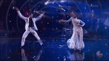 .@NormaniKordei and @iamValC starting things off super strong! #DWTS #...