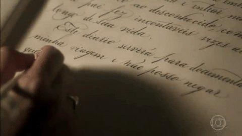 E assim começa a ser escrito o diário da Anna! #NovoMundo https://t.co...