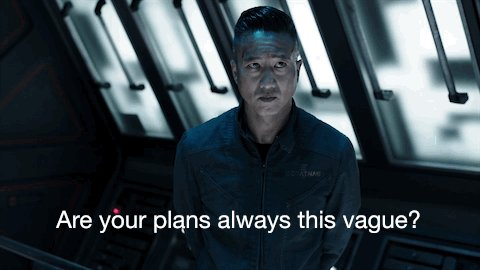 No one said planning was the Roci crew's strong suit. #TheExpanse http...