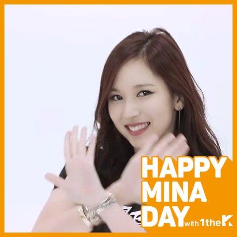 트와이스 미나의 생일을 축하합니다💕 Today is #TWICE #MINA's Birthday! 🎉 #HappyMINAday...
