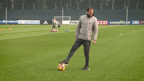 Boss 👌  It's back to training today for the Bianconeri ⚪️⚫️ #FinoAllaF...