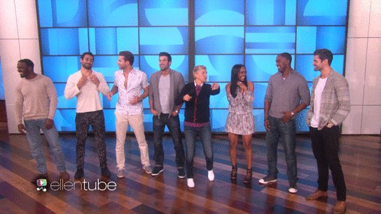 Six of Rachel's bachelors from #TheBachelorette just got very personal with my audience. https://t.co/jqf6h0D0nt