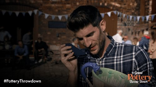 Bless Ryan's grandma! #PotteryThrowdown https://t.co/kxFbbWg6zf