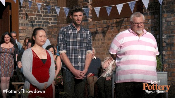 Hugs all round! The moment Ryan was crowned winner of #PotteryThrowdow...