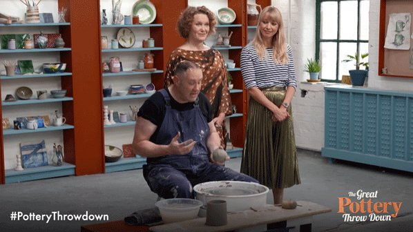When you realise there's no #PotteryThrowdown next week... https://t.c...