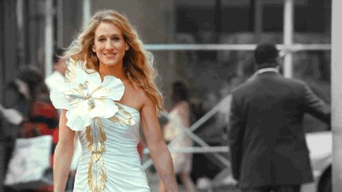 Happy birthday to Sarah Jessica Parker! Thank you for Sex and the City!