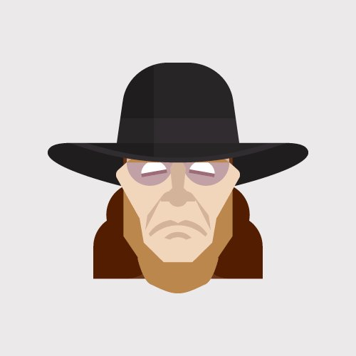 Happy 52nd (!!!) Birthday to The Undertaker  (gif via
