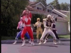#FlashbackFriday: It's morphin time! ⚡ https://t.co/yeX7IoNAW4 https:/...