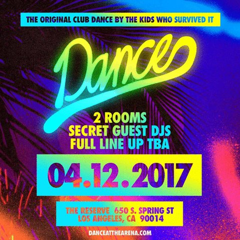 YES! @ClubDance is back for 1 night only. we've missed u all. READY TO SHOW LA HOW ITS DONE. https://t.co/dDDJxMm43B https://t.co/8F2Fg2KU9X