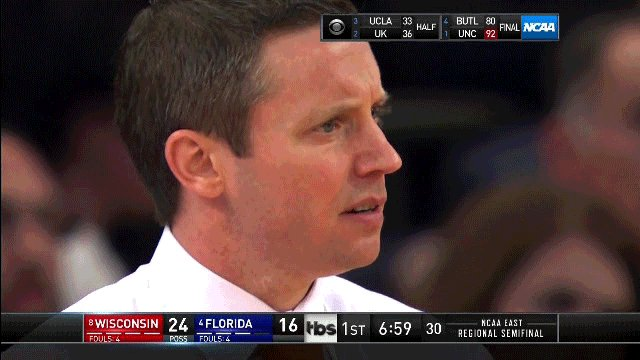 Mike White can't believe what he's seeing. https://t.co/FdceKnG8YS