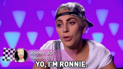 Damn, Ronnie! Can't wait to see what you bring this season! 👠😜 @ladyga...
