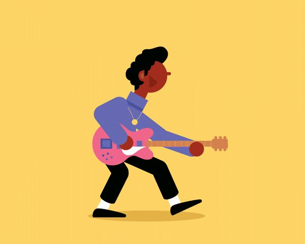 Little Chuck Berry gif for the latest @FiascoDesign weekly email 🎸