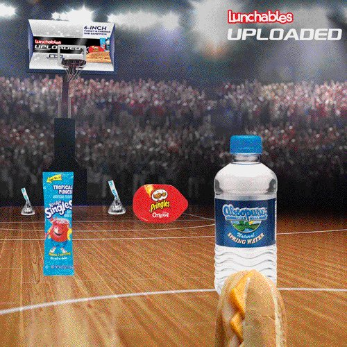 Live larger than an ankle-breaking crossover king with Lunchables Uploaded. https://t.co/RDGcawW3qr