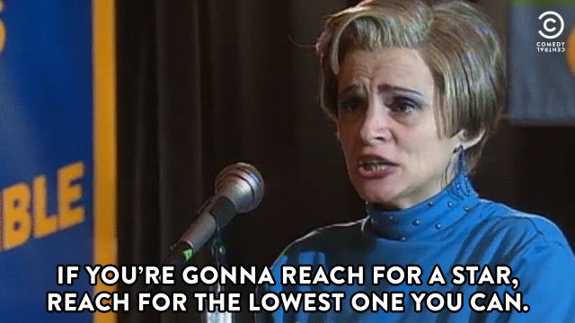 Have a reasonably happy birthday, Amy Sedaris.
