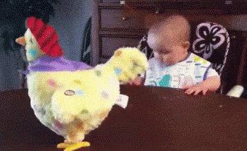 Alguno está pensando que fue primero, si la gallina... o el bacalao!!...