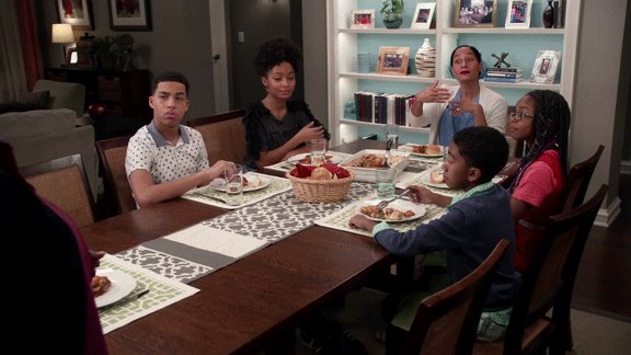 Here, Ruby! Have #ASeatAtTheTable 😂 #blackish https://t.co/OKlgx2cBBk