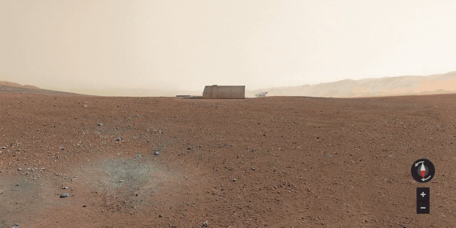 Land, sea and now, sky. Click through to explore our newest Google Cloud data center on Mars →