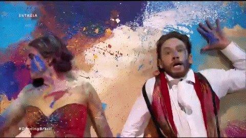Resultado de imagem para leonardo miggiorin no dancing brasil
