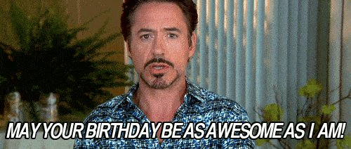 A Happy Birthday to Iron Man - Robert Downey Jr!