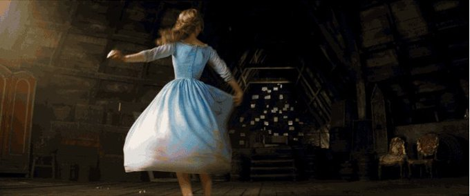 Happy Birthday Lily James! Watch the birthday girl in Cinderella this Friday at 19:00 on