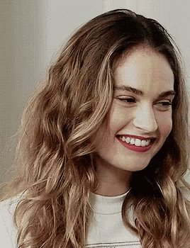 Happy 28th birthday Lily James, who starred opposite Hayley in Cinderella (2015)