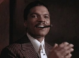 Happy birthday to the MAN, Billy Dee Williams!