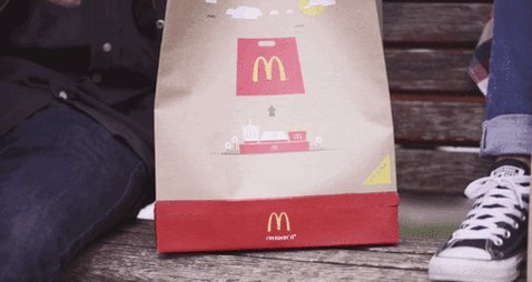 Really clever #McDonald's #Bag #Tray #packaging #design by DDB Budapest - https://t.co/rZqkgBfSDB https://t.co/AXgtSGs264