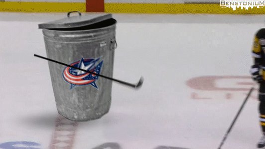 Why does the NHL allow garbage like this on the ice?!  #Calvert #Kuhnhackl https://t.co/tT1xmFtpd0