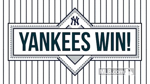Ballgame. Yankees WWWWWWin, 3-2!   6 wins in a row and first 5-0 start at home since 2000!  #StartSpreadingTheNews