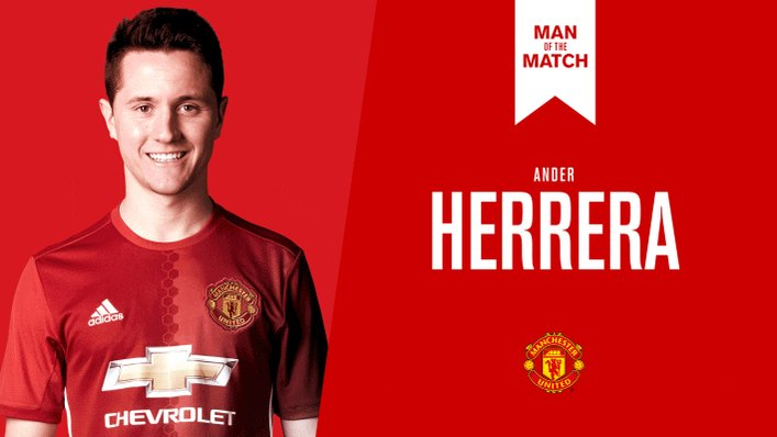 Retweet to vote for @AnderHerrera as #MUFC's Man of the Match against Chelsea.