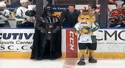 "Down goes Vader!!! ""@JChaimo: Just another day in the A... http://t.co/soXcP5quut"""