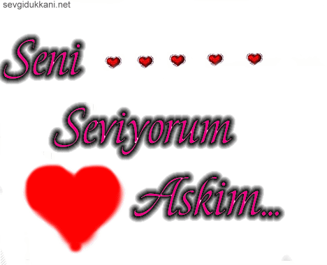 Турецкие открытки о любви с переводом