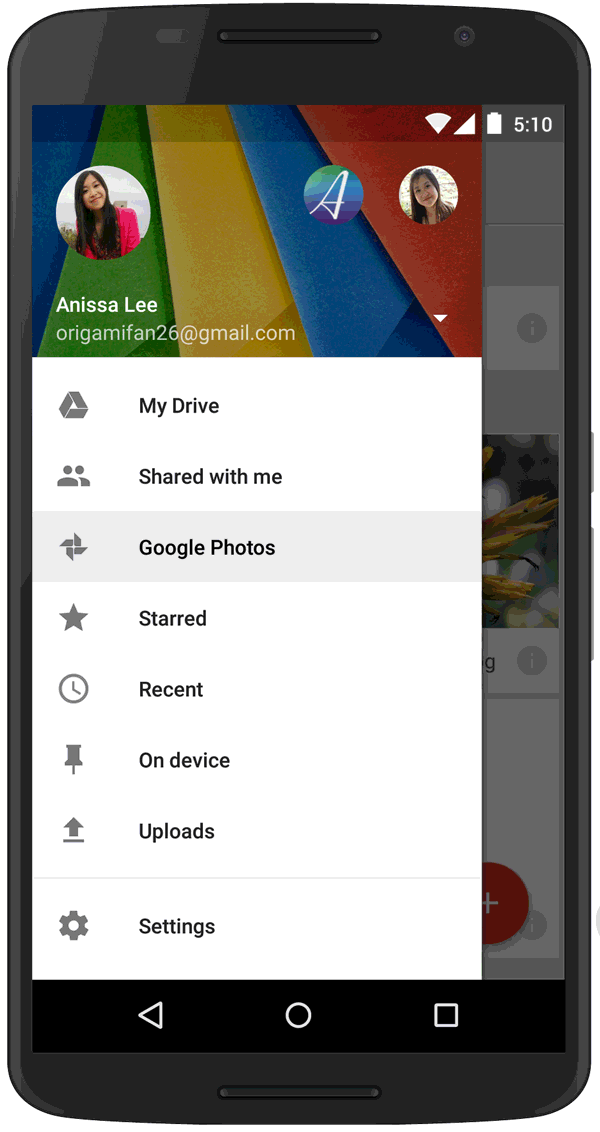 Starting today, photos & videos you keep in Google+ Photos will be available in Google Drive. http://t.co/LNI8MBzgoQ http://t.co/rUchNdiXuV