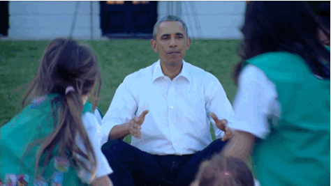 RT @OutFrontCNN: Pres. @BarackObama to scouts: 'What are you guys doing in my yard?' http://t.co/ePcsNlXU6U @CNN http://t.co/sg2CCKP2LF