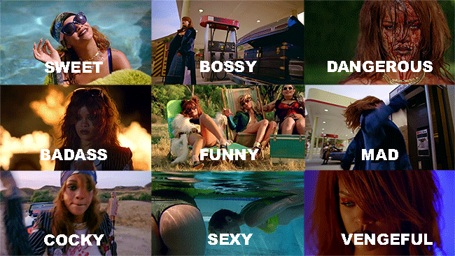 The versatility of @Rihanna in #BBHMMVideo. http://t.co/825oq9A4Nv