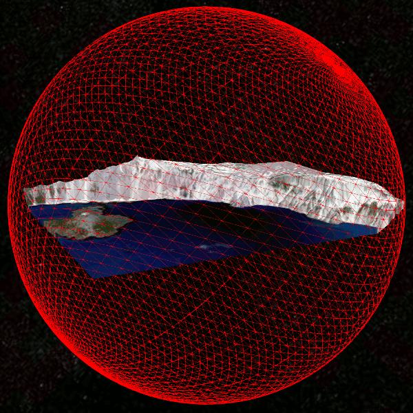 Bounding sphere vs. Oriented Bounding Box for culling terrain by @kainino0x. http://t.co/6jCHxBId5E